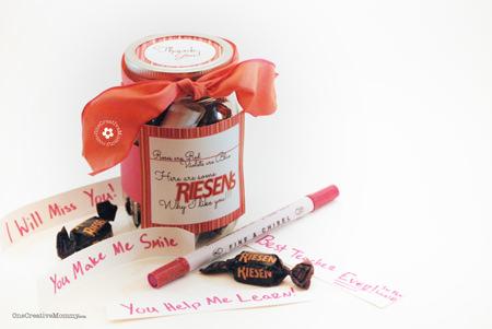 Riesens Teacher Gift {Riesens Why I Like You} 1