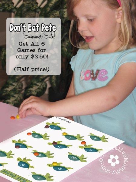 Don't Eat Pete Summer Sale!