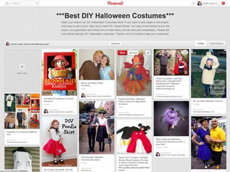 Best DIY Halloween Costumes Pinterest Shared Board