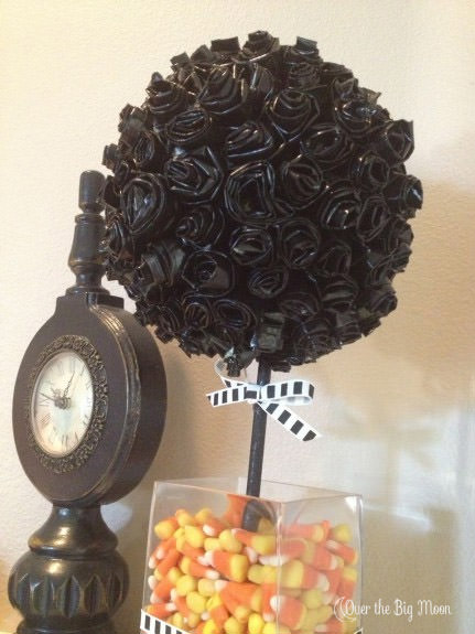 Duck Tape Topiary from Over the Big Moon
