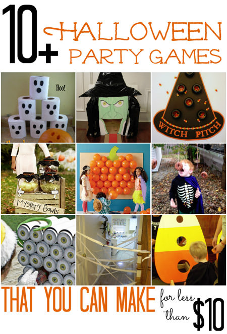 Frugal Halloween Party Games from All Cheap Crafts
