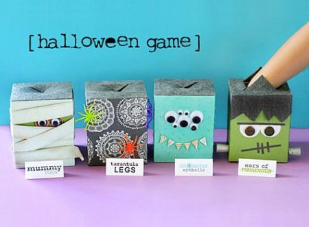 Halloween Feel Box Game and Free Printables from Lisa Storms