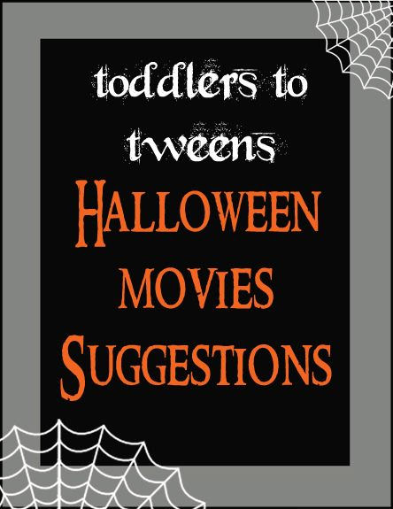 Halloween Movie Suggestions from Over the Big Moon