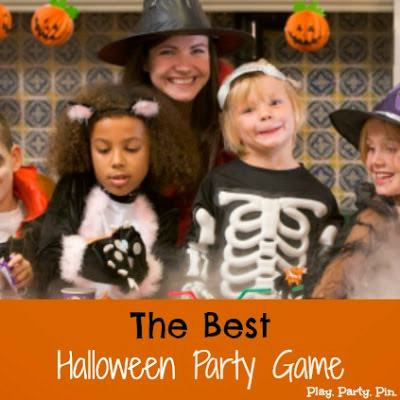 Halloween Party Game {Course Challenge) from Play, Party, Pin