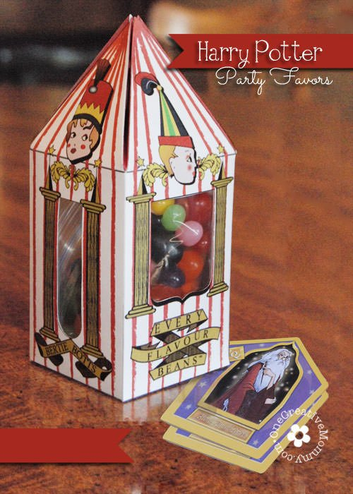 Harry Potter Party Favors {Including Bertie Botts Every Flavor Beans ...