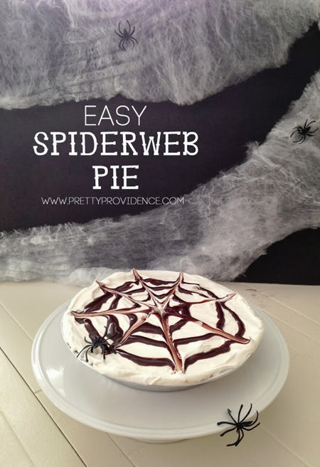 Easy Spiderweb Pie from Pretty Providence
