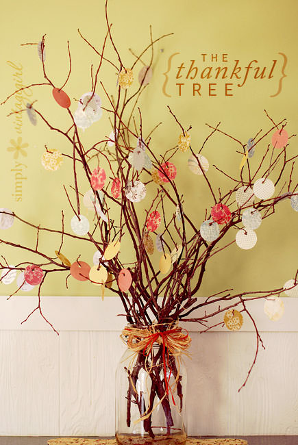 Thankful tree by Simply Vintage Girl