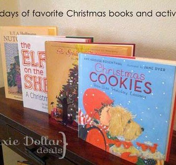 12 Christmas Books and Activities to Share with Your Kids {Guest post by Dixie Dollar Deals on OneCreativeMommy.com}