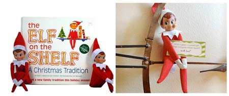 12 Christmas Books and Activities to Share with Your Kids {Guest post by Dixie Dollar Deals on OneCreativeMommy.com} The Elf on the Shelf