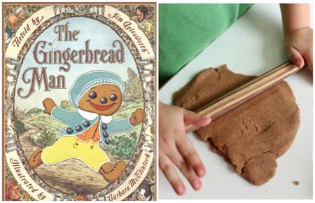 12 Christmas Books and Activities to Share with Your Kids {Guest post by Dixie Dollar Deals on OneCreativeMommy.com} The Gingerbread Man