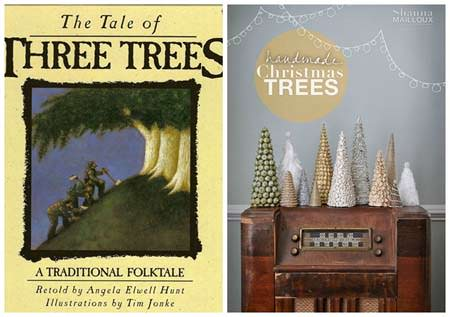 12 Christmas Books and Activities to Share with Your Kids {Guest post by Dixie Dollar Deals on OneCreativeMommy.com} The Tale of Three Trees