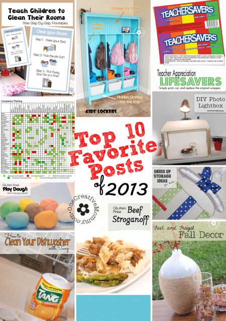 Top 10 Fan Favorite Projects on OneCreativeMommy.com