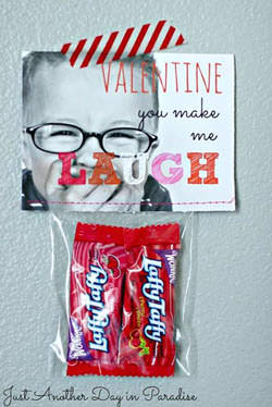 A Very Funny Valentine from Just Another Day in Paradise {Valentine Roundup on OneCreativeMommy}