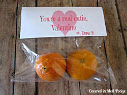 You're a Real Cutie Valentines by Covered in Mod Podge {Valentine Roundup on OneCreativeMommy.com}