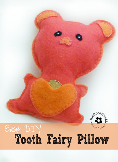 how to make a tooth fairy pillow for children