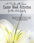 Create meaningful Easter activities for children of all ages with my Free Printable