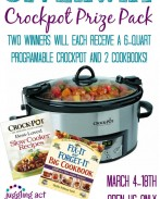 Crock Pot Prize Pack Giveaway on OneCreativeMommy.com