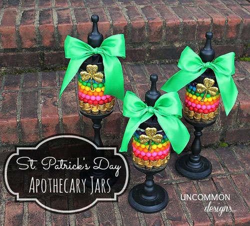 Apothecary Jars for St. Patrick's Day from Uncommon Designs