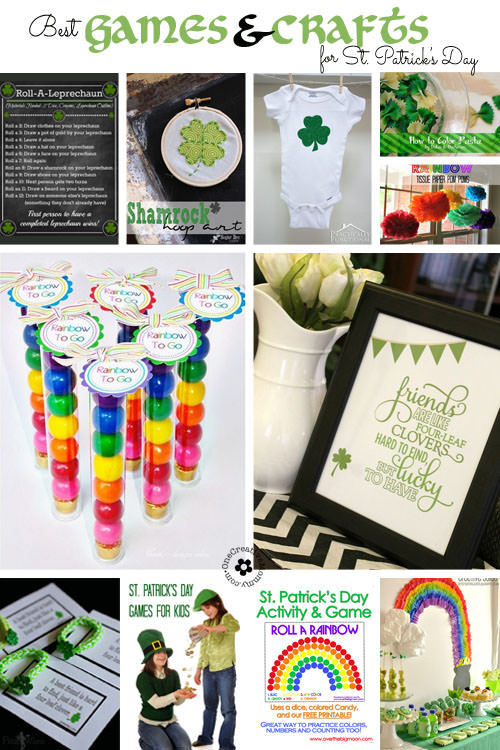 15 Best Crafts and Games for St. Patrick's Day!