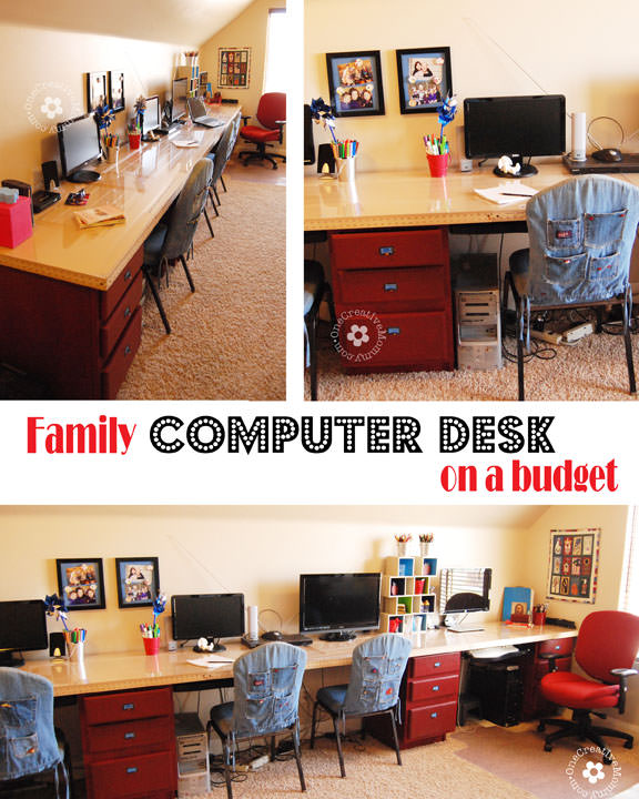 diy game storage diy kids computer desk station onecreativemommycom