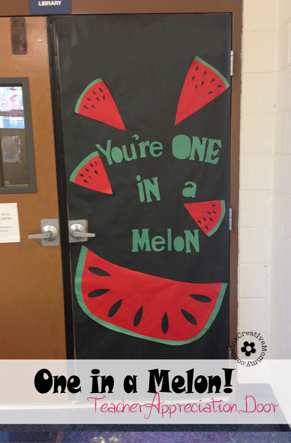 Classroom Recognition Ideas ~ Teacher appreciation ideas for door decorating
