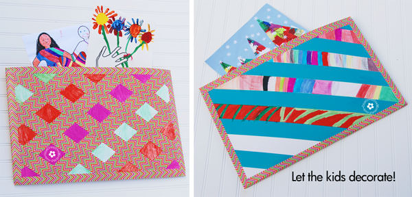 Tame The Schoolwork With A Duck Tape Art Portfolio Onecreativemommy Com