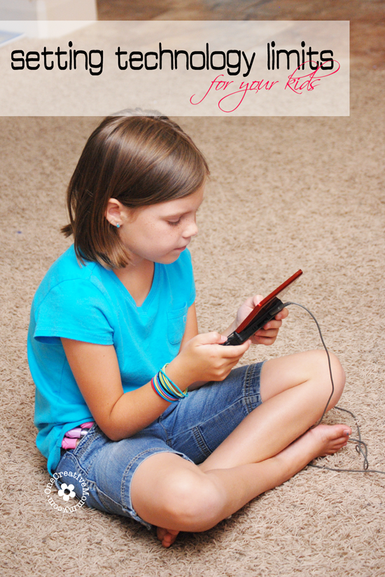 Kids spending too much time gaming? Help them balance their time this summer by limiting their time with technology {How to Tips from OneCreativeMommy.com} #activeparenting