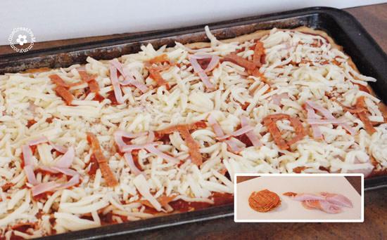 Create a fun birthday tradition with Happy Birthday Pizza! {OneCreativeMommy.com}