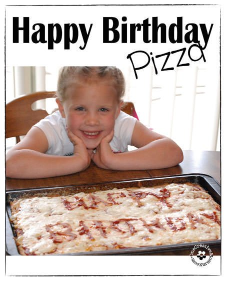 Happy Birthday Pizza Tradition