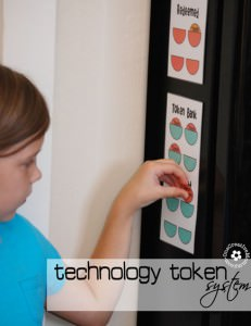 Technology Token System {Printable}