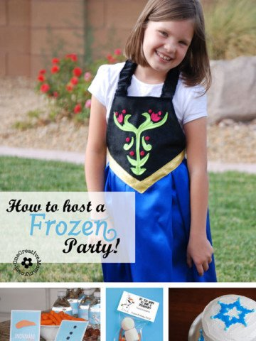 Awesome Ideas to Host a Frozen Party! Games, Invitations, Food and Printables! {OneCreativeMommy.com}