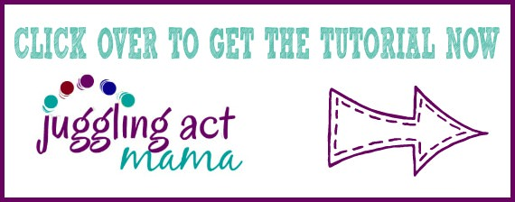 Click to see the tutorial on Juggling Act Mama