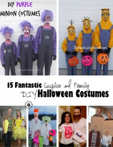15 DIY Couples and Family Halloween Costumes