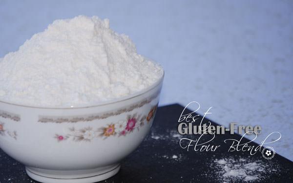 Best Gluten-Free Flour Blend {OneCreativeMommy.com} #glutenfree #flourblend