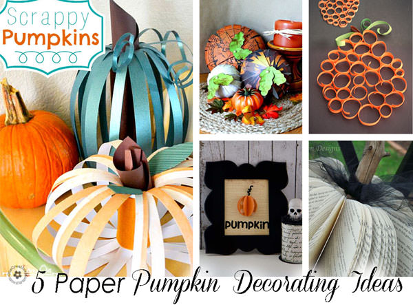 Pumpkin fall decorating ideas onecreativemommy