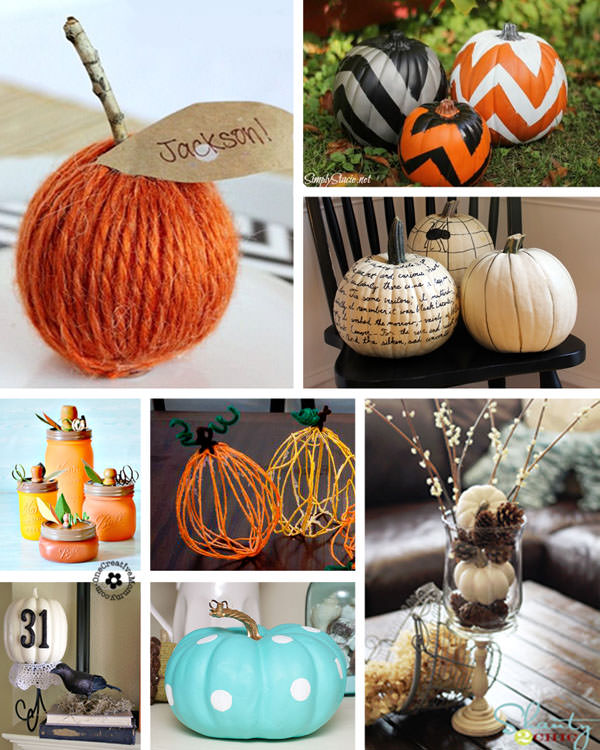 25 Pumpkin Fall Decorating Ideas