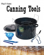 Must have canning tools for bottling fruit {OneCreativeMommy.com} #canningtips #canningtools