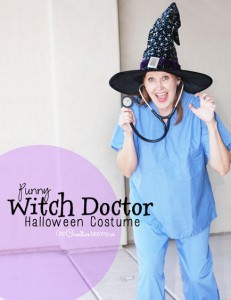 Pun Halloween Costumes {Witch Doctor}