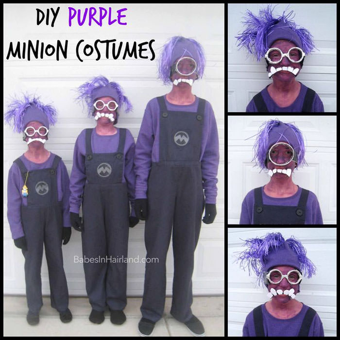 15 Awesome DIY Halloween Costumes for Couples and Families {OneCreativeMommy.com} Find these costumes on Babes  in Hairland