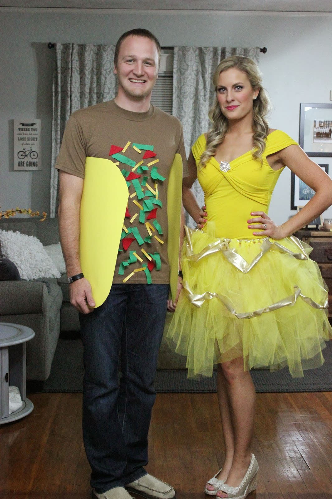 15 Awesome DIY Halloween Costumes for Couples and Families OneCreativeMommy.com Find these  sc 1 st  OneCreativeMommy.com & 15 DIY Couples and Family Halloween Costumes - onecreativemommy.com