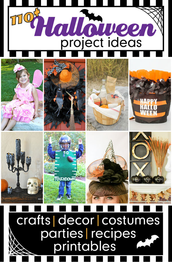 Day 5 of Our Halloween Blog Hop with over 110 fabulous Halloween Ideas shared by bloggers. #halloweenideas #halloween