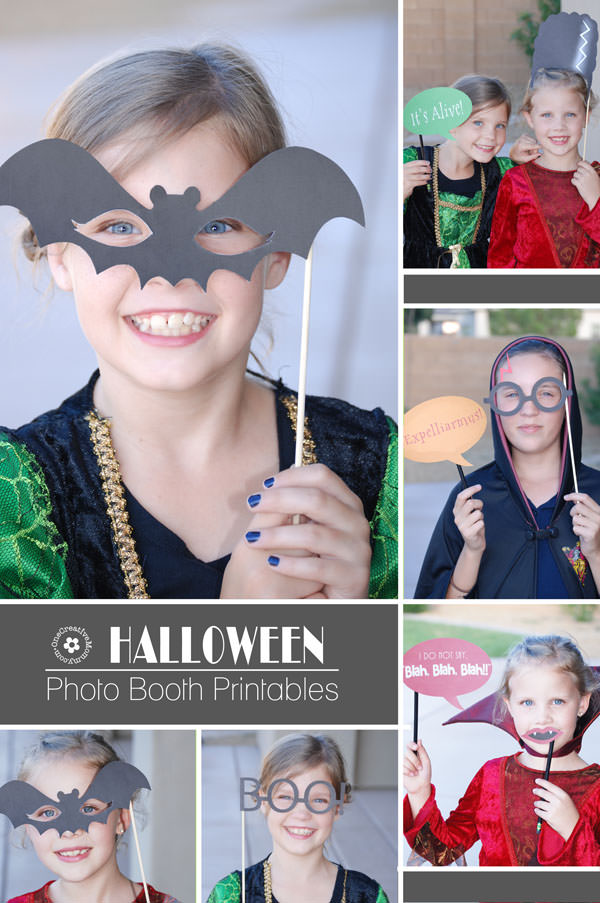 picture relating to Halloween Photo Booth Props Printable Free called Halloween Image Booth Props Printables