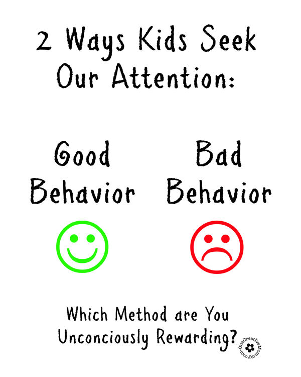 Positive Reinforcement Ideas for Frustrated Parents {OneCreativeMommy.com}