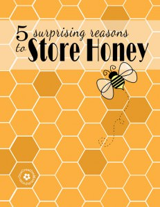 5 Surprising Reasons to Store Honey {OneCreativeMommy.com} Cox's Honey #Giveaway