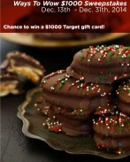 Find easy homemade holdiay appetizer recipes & enter for a chance to win Ways To Wow $1000 Sweepstakes! Find rules and enter here: http://bit.ly/1uKPvgI. Prize: $1000 Target gift card Ends: 12/31/14. AD