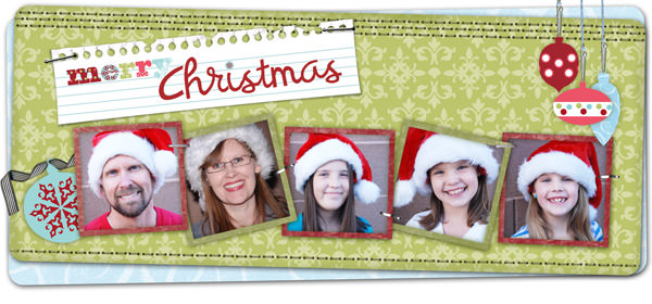 Merry Christmas from One Creative Mommy and the Fowler family!