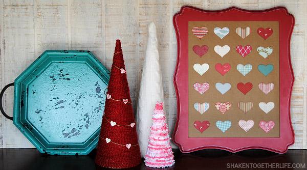 Valentine Heart Specimen Art from Shaken Together Life {Original Project here: http://bit.ly/1wFaEt1}