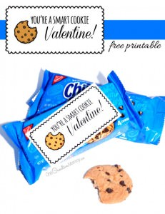 Smart Cookie Valentine Printables