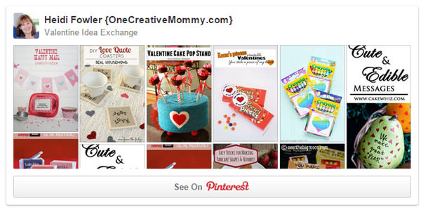 Valentine Idea Exchange Board on Pinterest