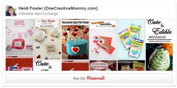 Valentine Idea Exchange Board on Pinterest